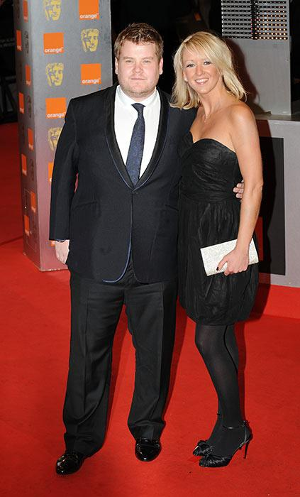 Image result for james corden wife