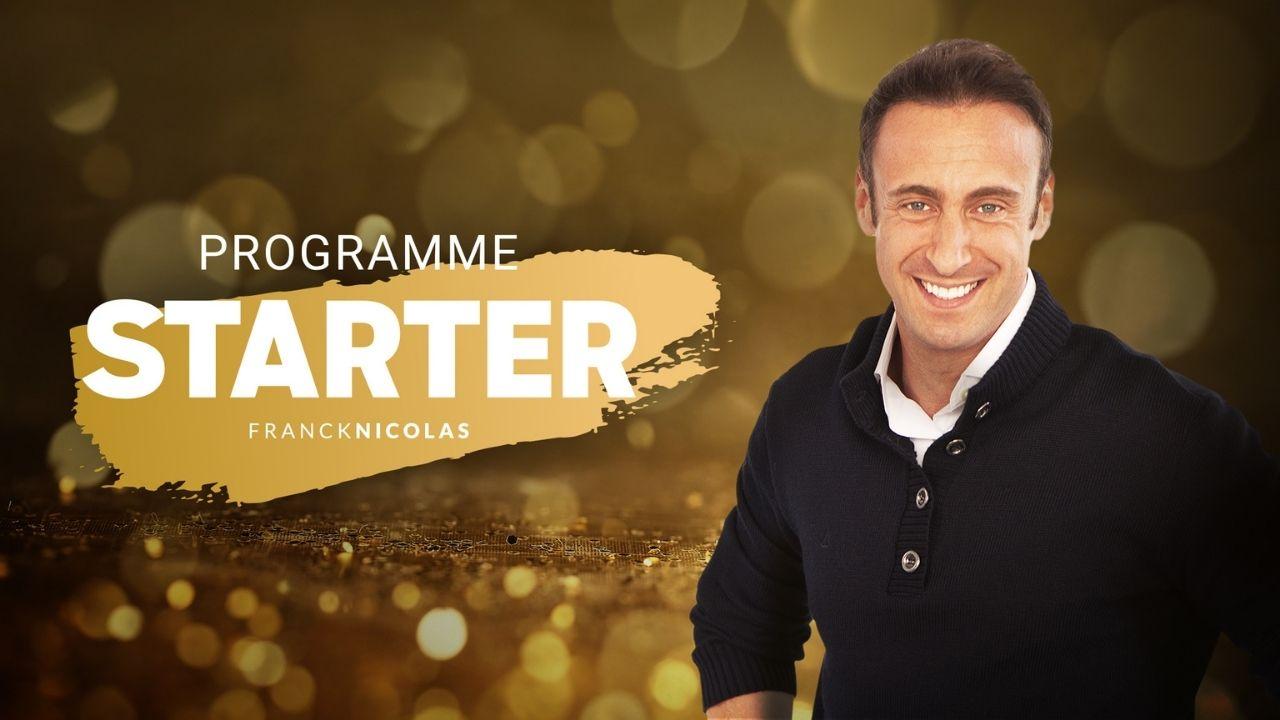 Programme starter de Franck Nicolas