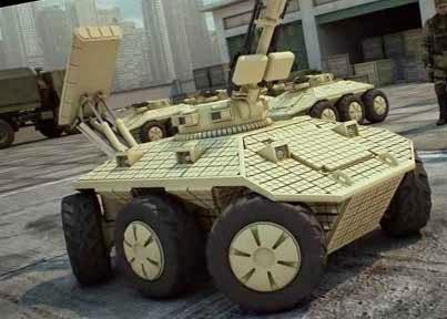 Боевые роботы армии России