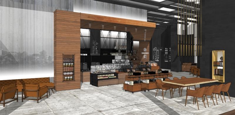 Starbucks Nasıl Tasarlanıyor? Doğru Malzemeleri Harmanlayarak 5