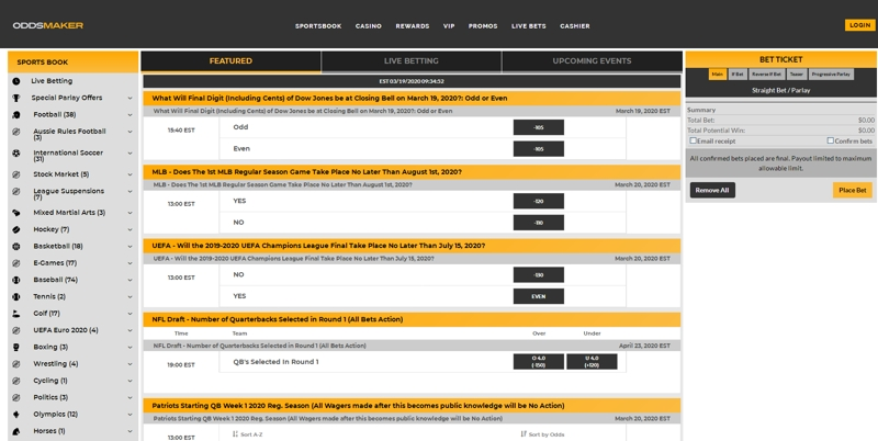 БК Oddsmaker: реальные отзывы и детальный обзор