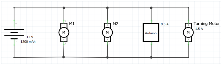 Solved: In The Circuit Diagram Below You Have Two Drive Mo ...