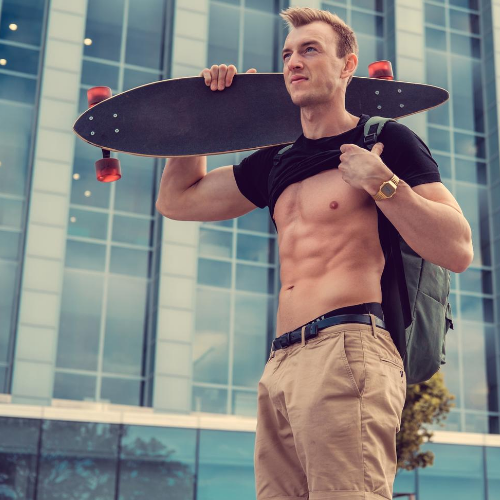 longboarder abs