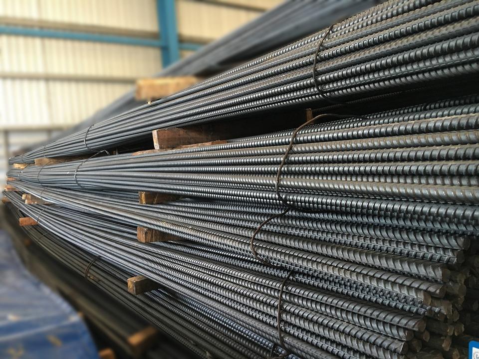 Barras de ferro são o produto mais exportado de bauru.