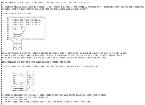 Арт в файле robots.txt