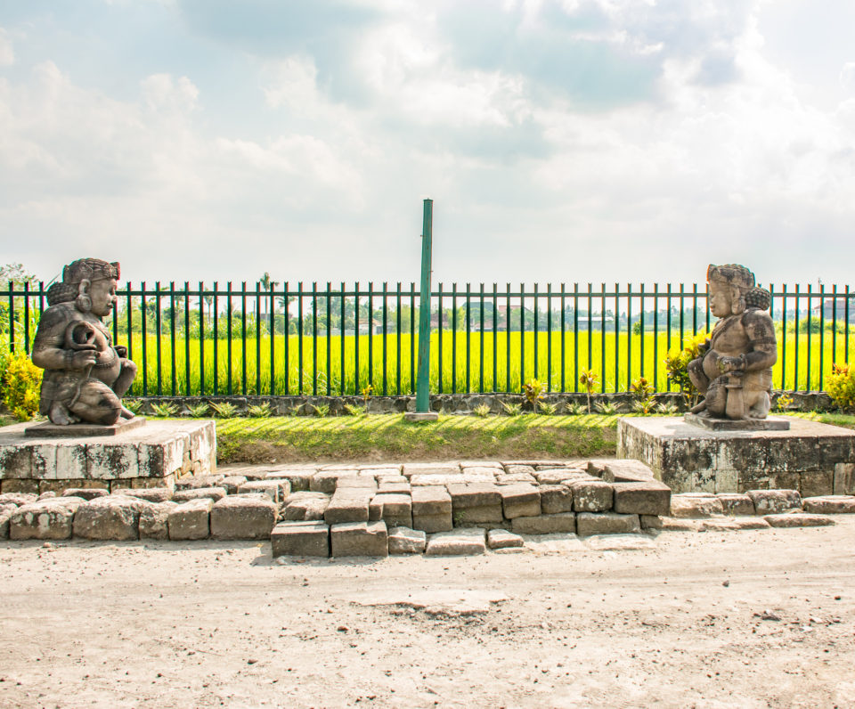 Dwara Balas protecting the Candi Plaosan temples. Photo Credit – Hema Saran