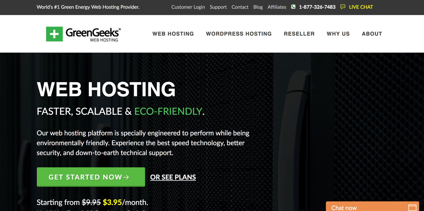 web hosting is also alternative for siteground.