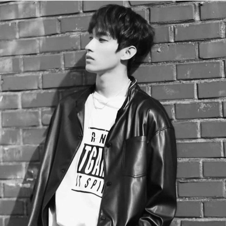 model jaket kulit pria korea