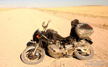 Crash in Namibia