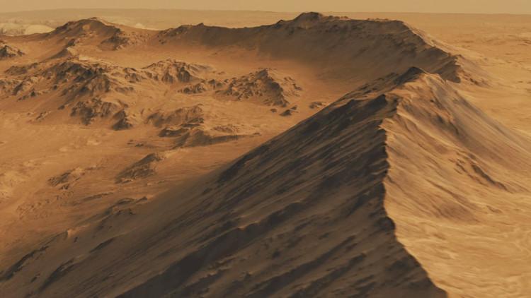 Bác sĩ Philip Davies đang rao bán đất trên sao Hỏa.