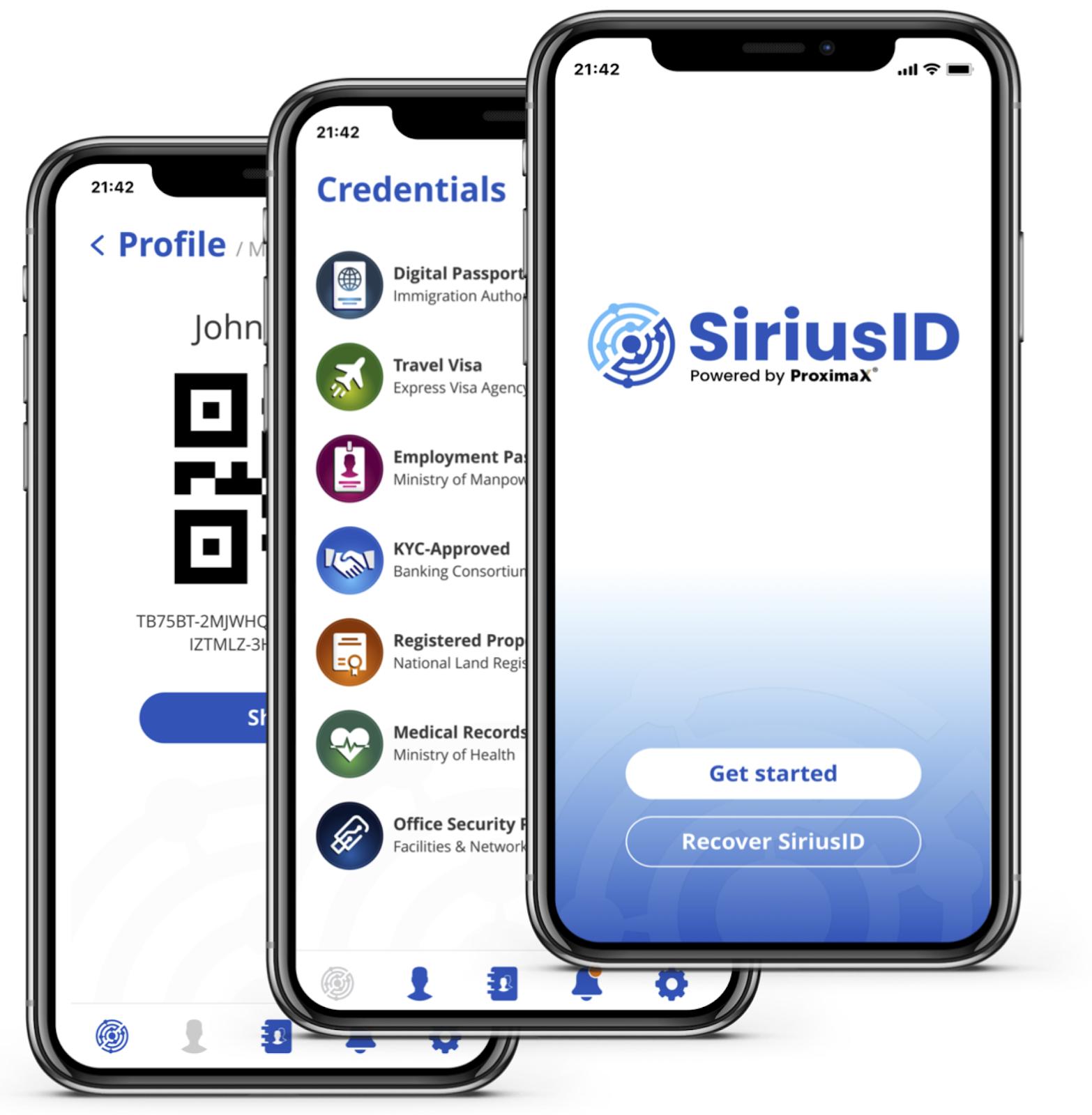 SiriusID app