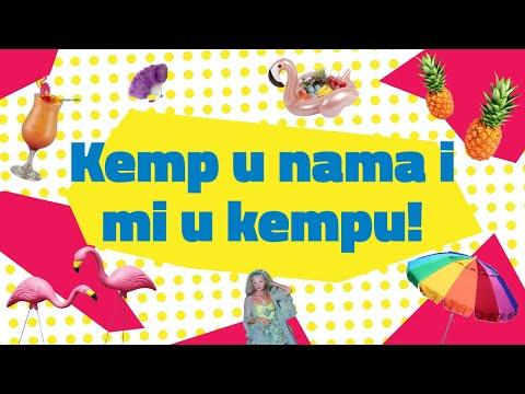 Kemp u nama i mi u kempu ! - dokumentarni film o kempu - projekat ,,Camping the trash out''  ENG SUB