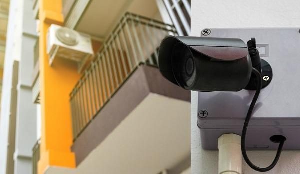 دوربین مدار بسته در مکان های عمومی