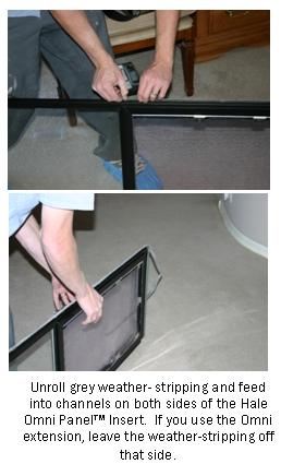 Hale Pet Door Omni Panel Pet Door For Sliding Glass Door