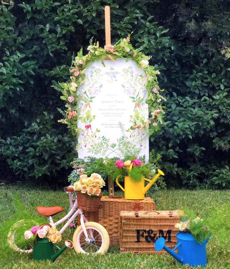 Nicola Bathie - children's garden party theme inspiration
