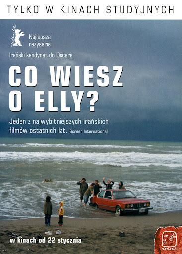Przód ulotki filmu 'Co Wiesz O Elly?'
