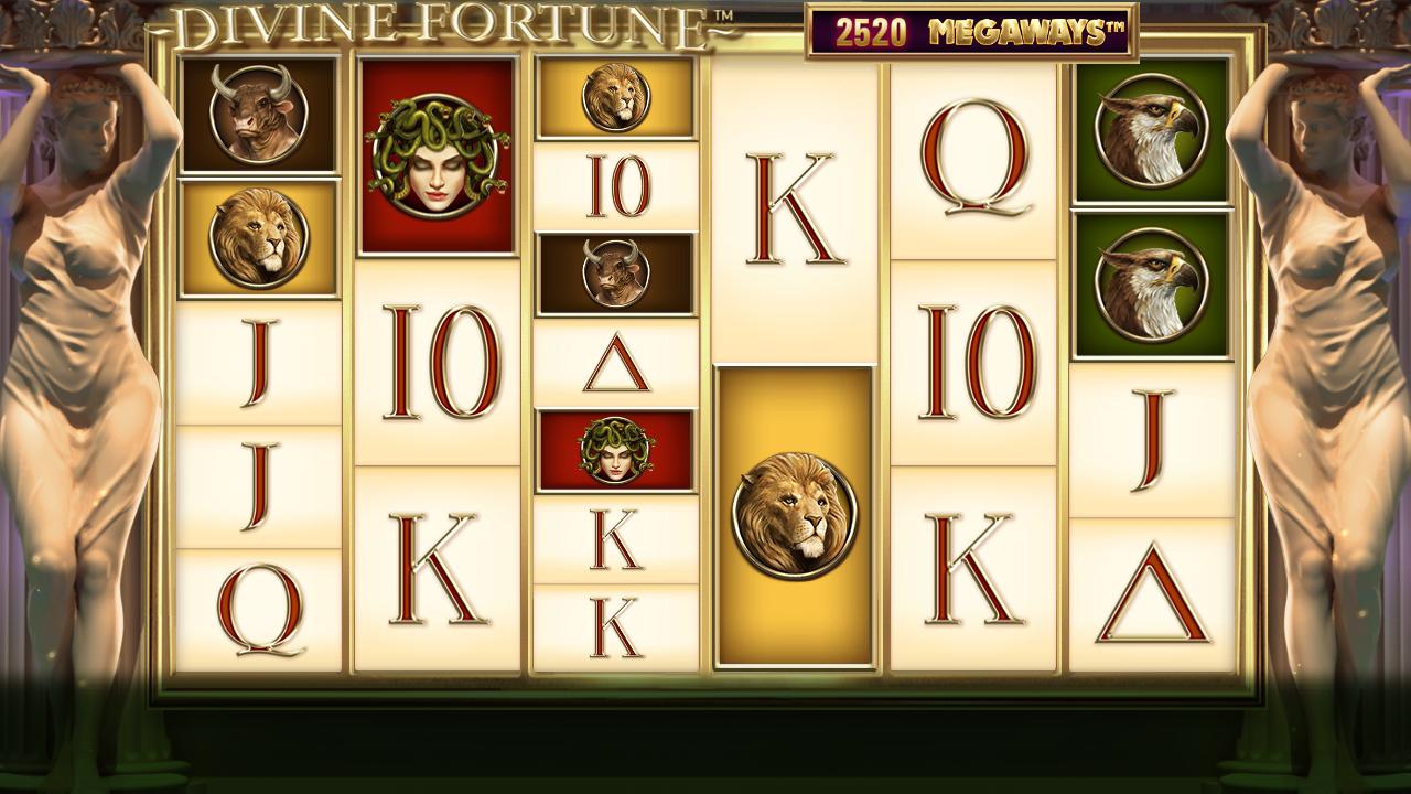 Divine Fortune Megaways spēļu automāts Kazino Latvijā