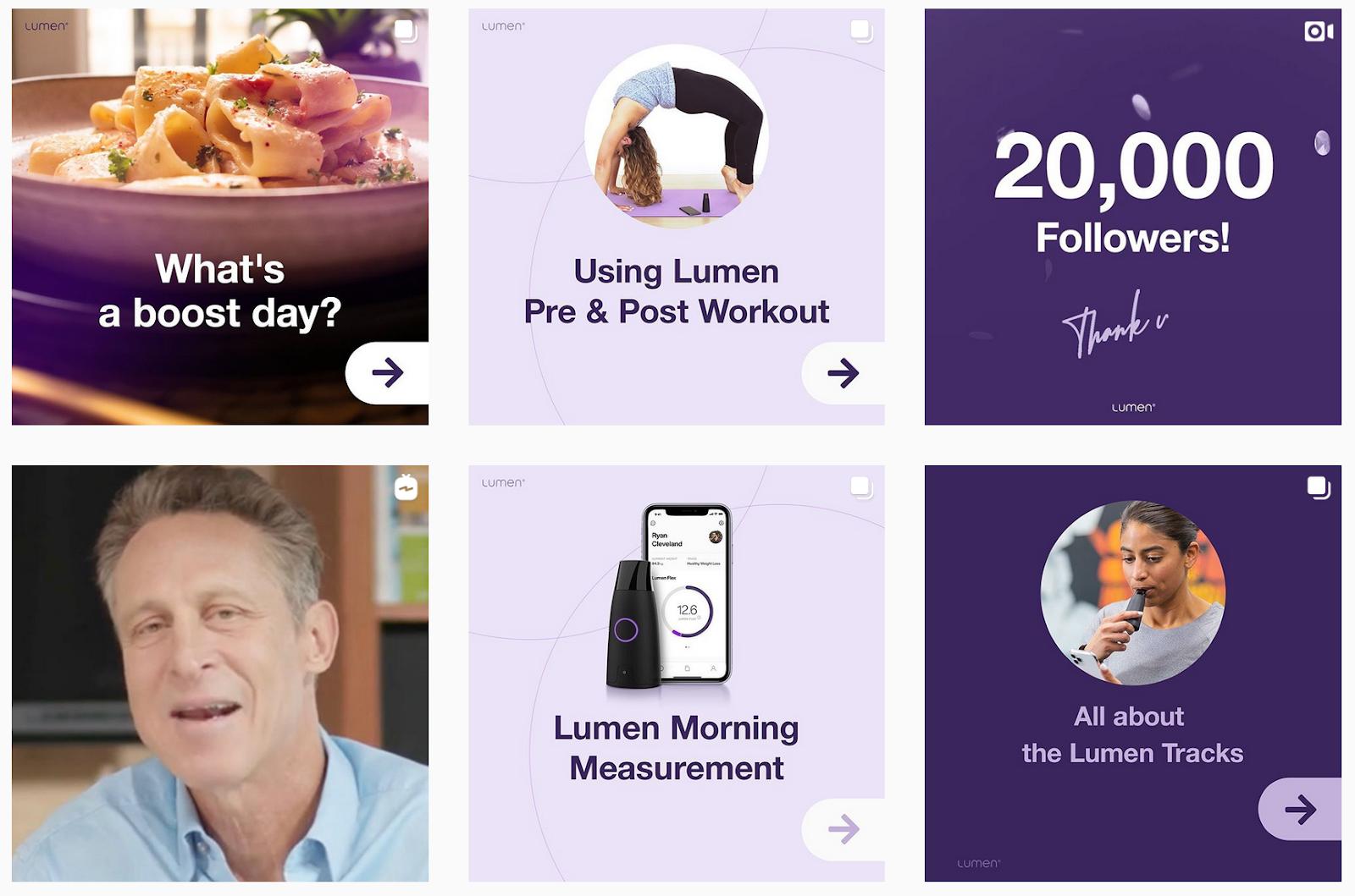 Lumen | Image Gallery | Health Brands