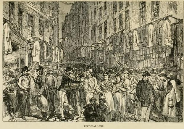 Image result for petticoat lane 1878