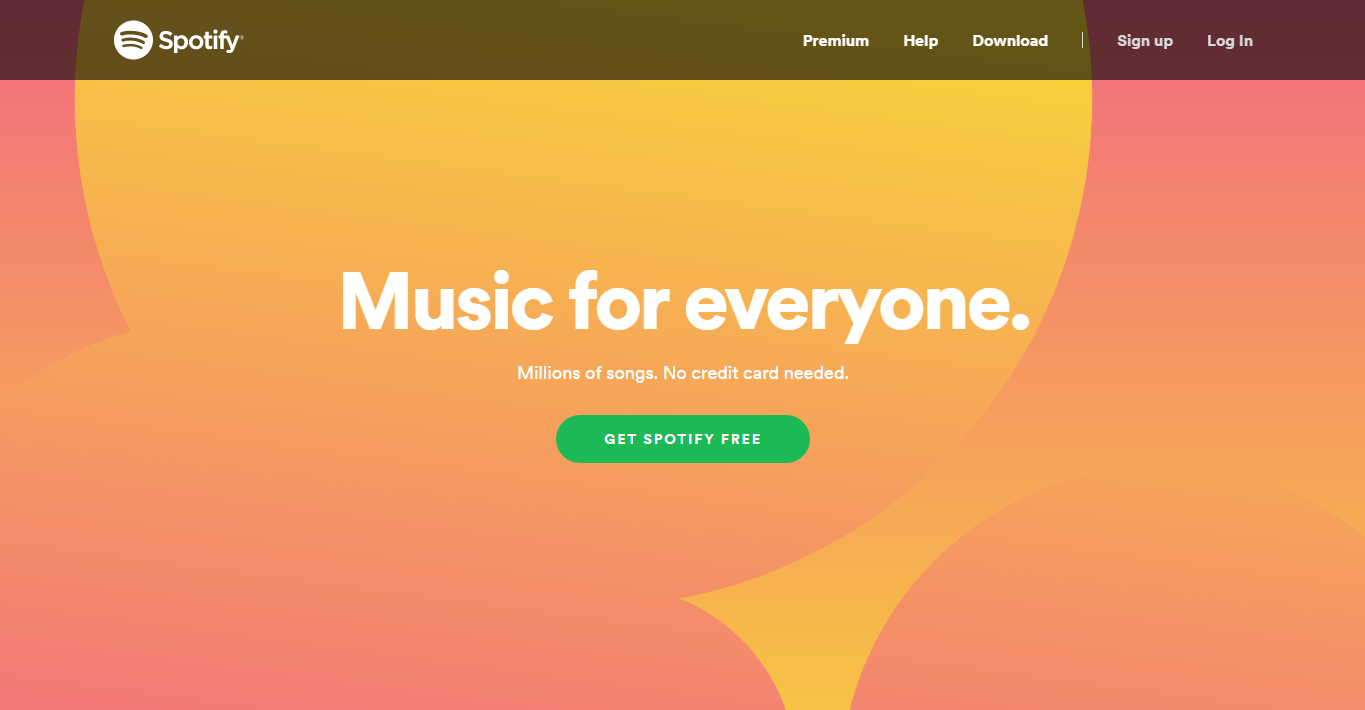 how to launch an app like spotify