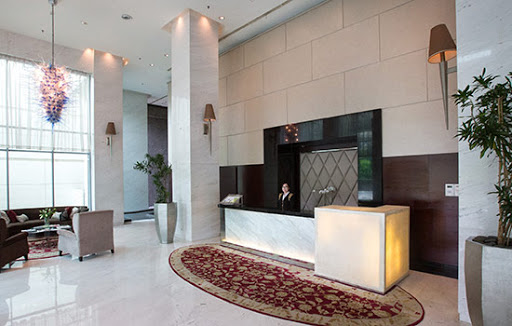 lobby of Senayan City Residence