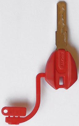 Red key ducati
