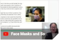 facemask video thumbnail