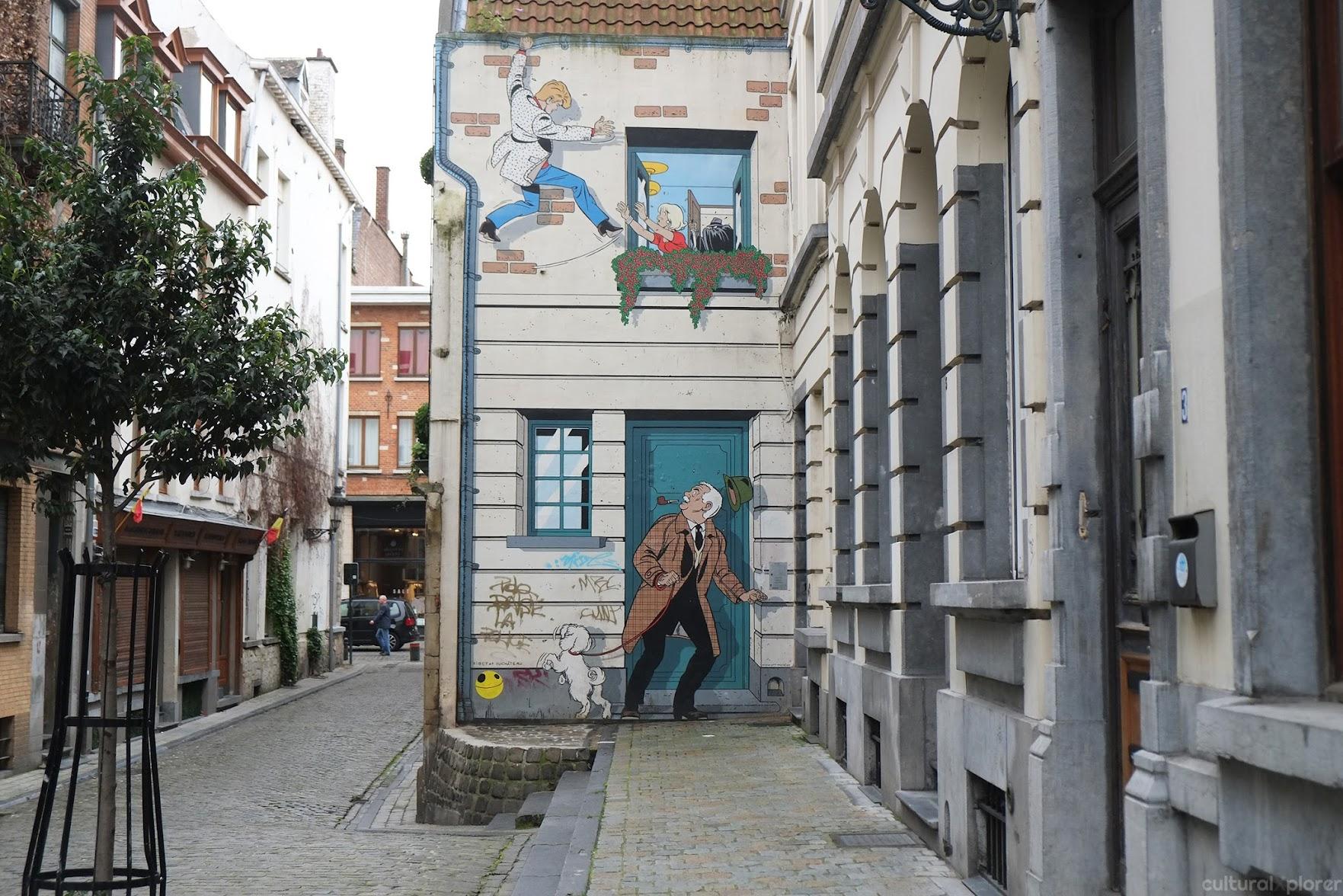 Ric Hochet Brussels Street Art