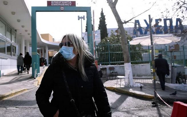Из-за опасности коронавируса в Салониках закрыли школу