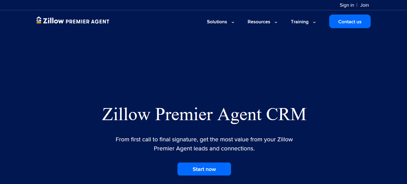 Zillow Premier Agent CRM for free