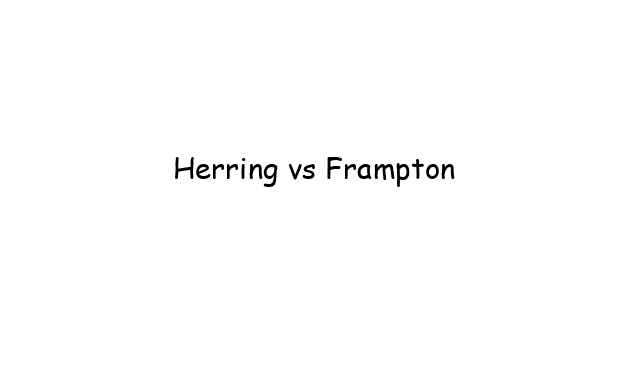 Herring vs Frampton