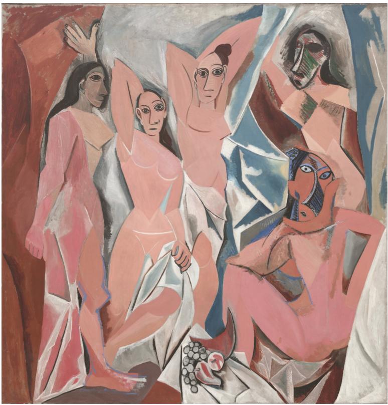 Pablo Picasso (1881-1973)  Les Demoiselles d'Avignon