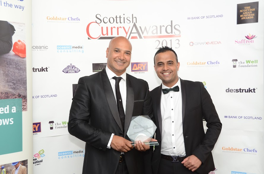 Akbars glasgow wins best restaurant Design