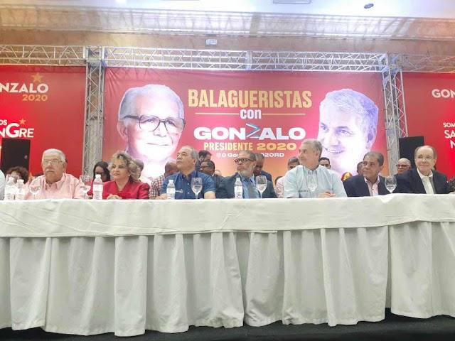 Directorio presidencial reformista proclama a gonzalo candidato presidencial