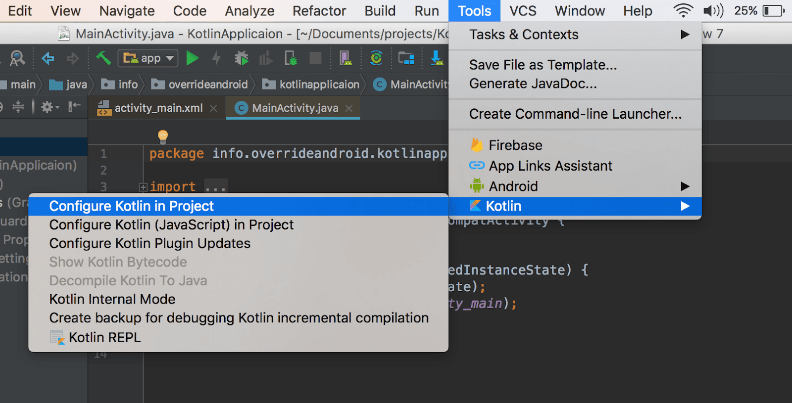 How to Use Kotlin in Your Android Projects