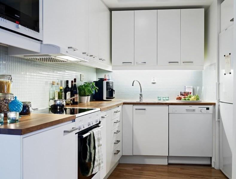 Nội thất thông minh phòng bếp được thiết kế đơn giản