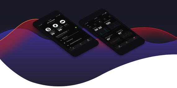 Health tech wearable app design