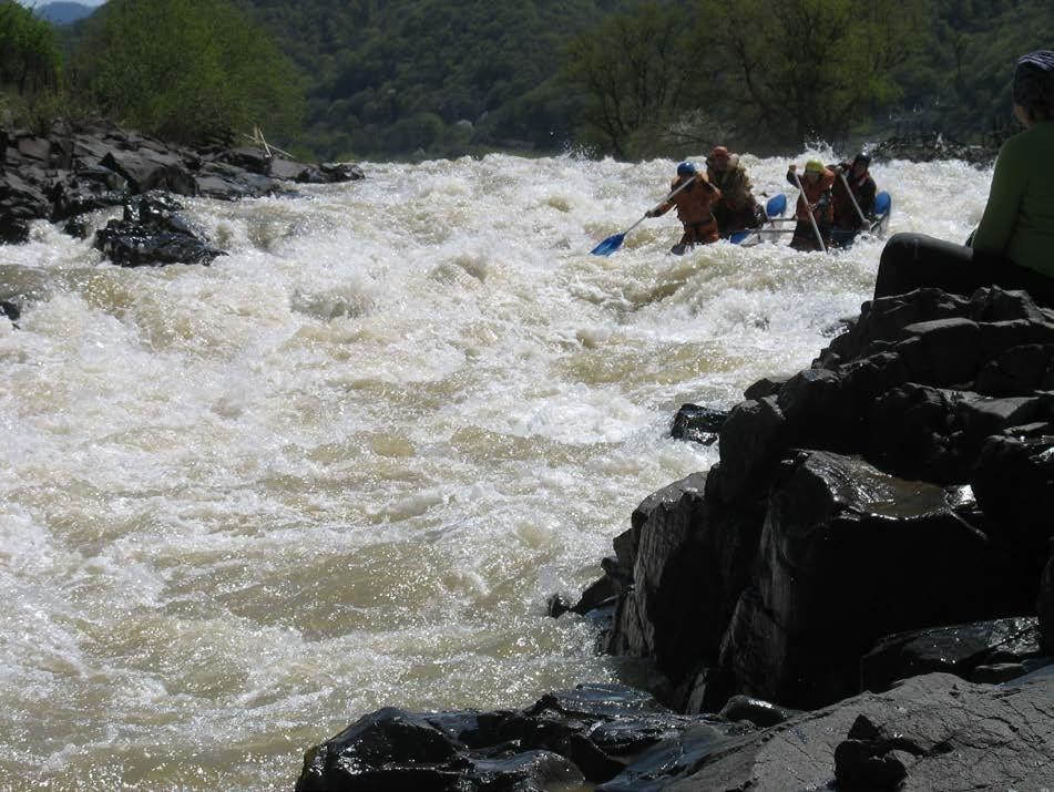 Отчет о водном походе по реке Кубань