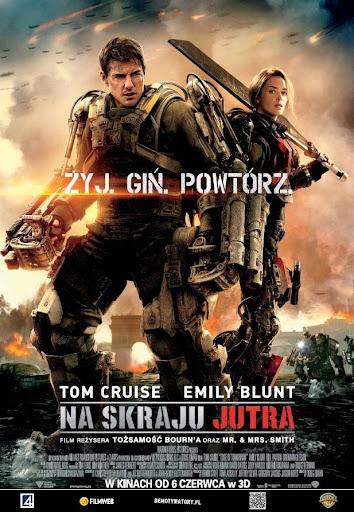 Polski plakat filmu 'Na Skraju Jutra'