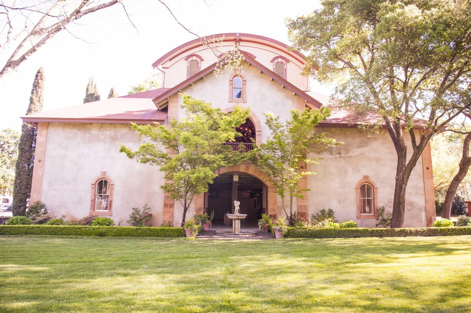 Charles Krug Winery wedding venue