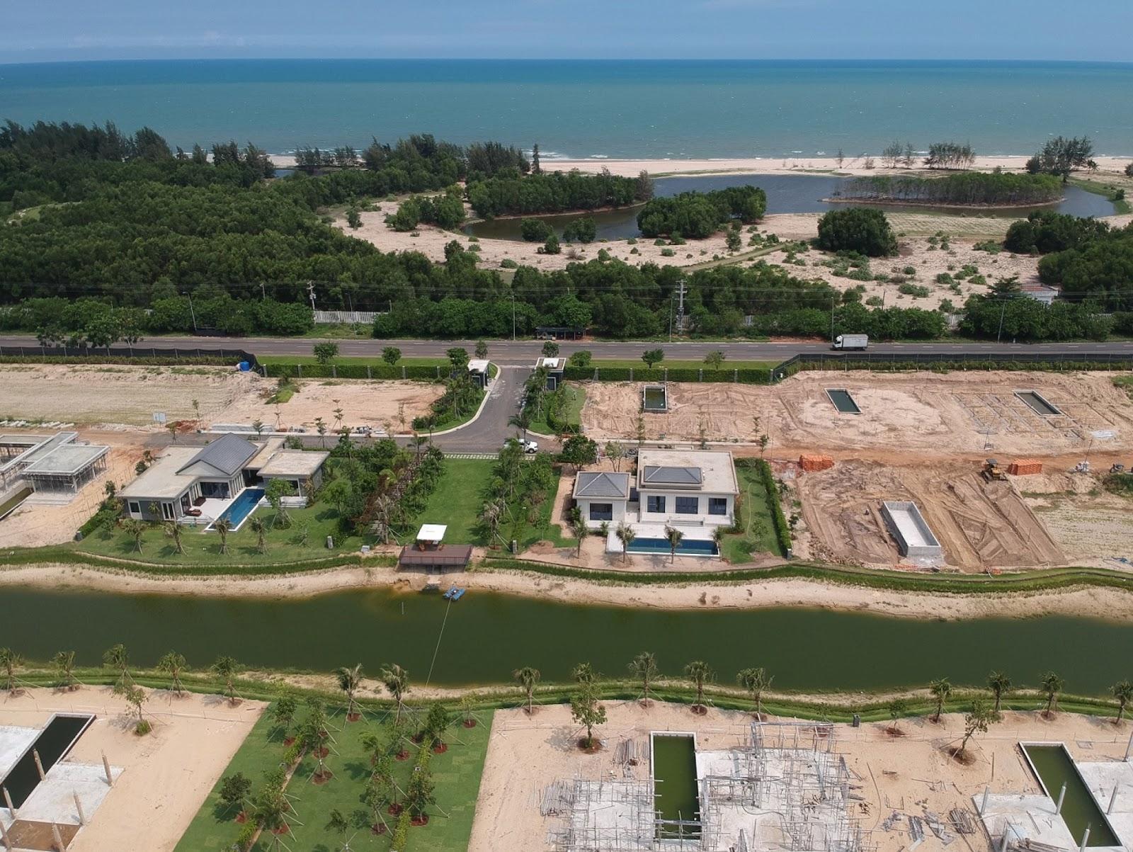 tiến độ dự án coastar hồ tràm tháng 8 năm 2018