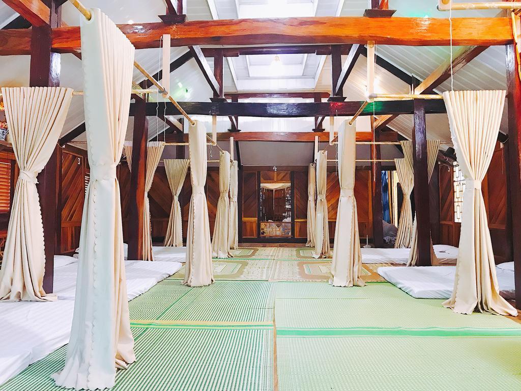 Phòng ngủ tập thể Eco Homestay Mai Châu