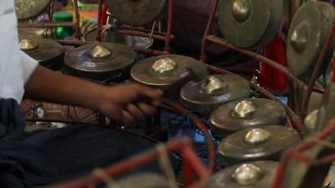 Image result for kyi waing instrument of myanmar