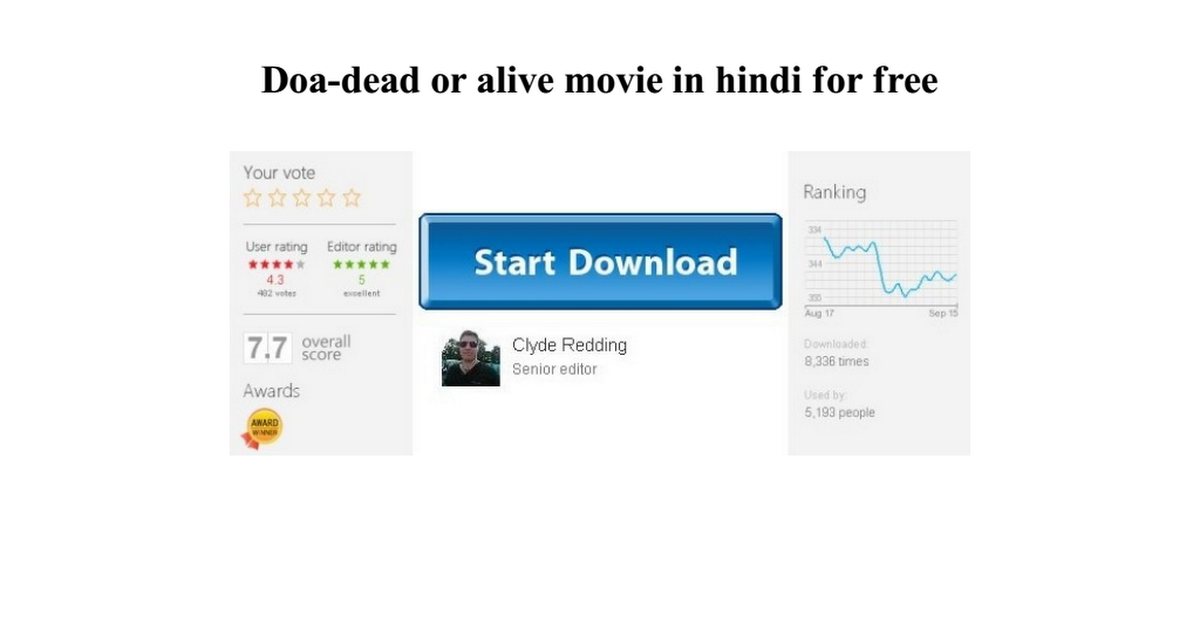 Doa Dead Or Alive Movie In Hindi For Free Google Drive