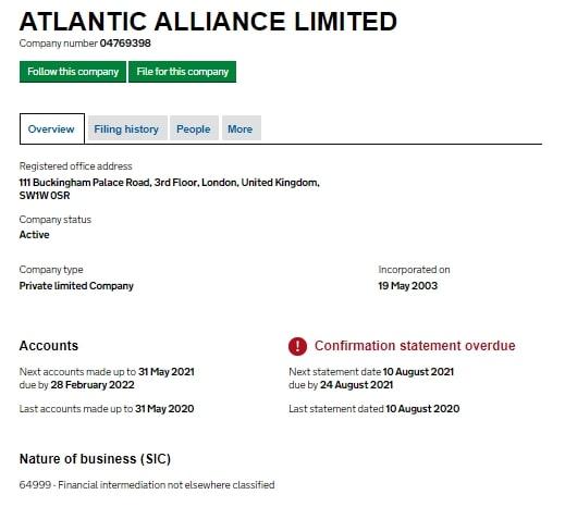 Atlantic Alliance: отзывы реальных клиентов, оценка торговых возможностей