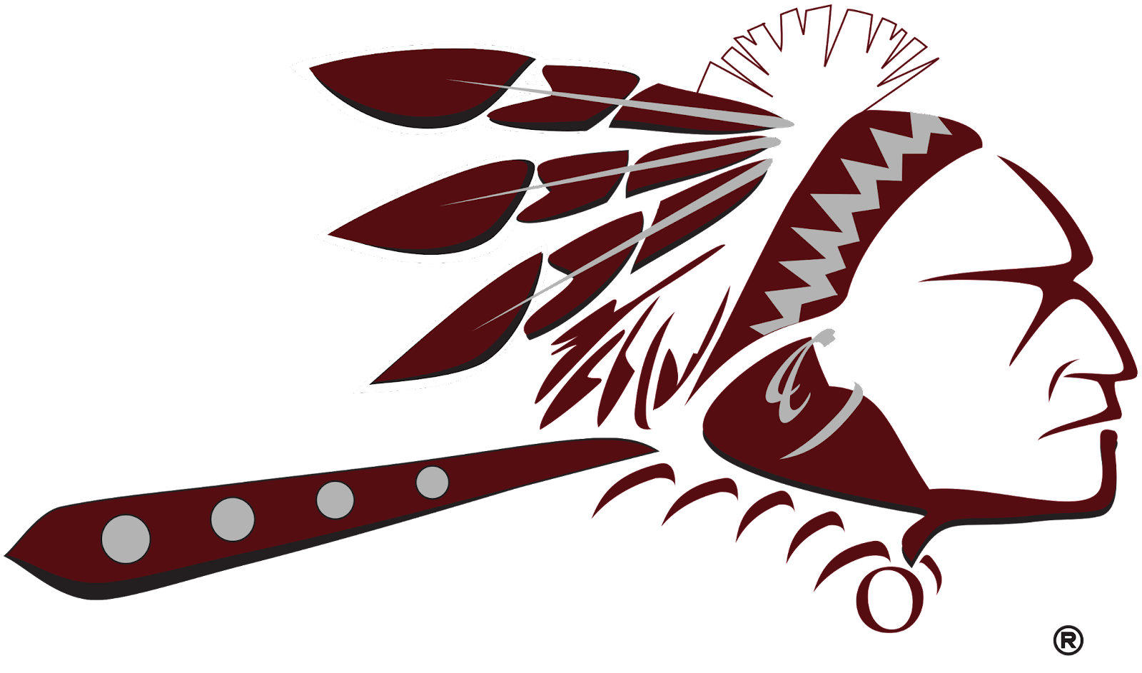 Indian Head Official Logo Maroon transparent.png
