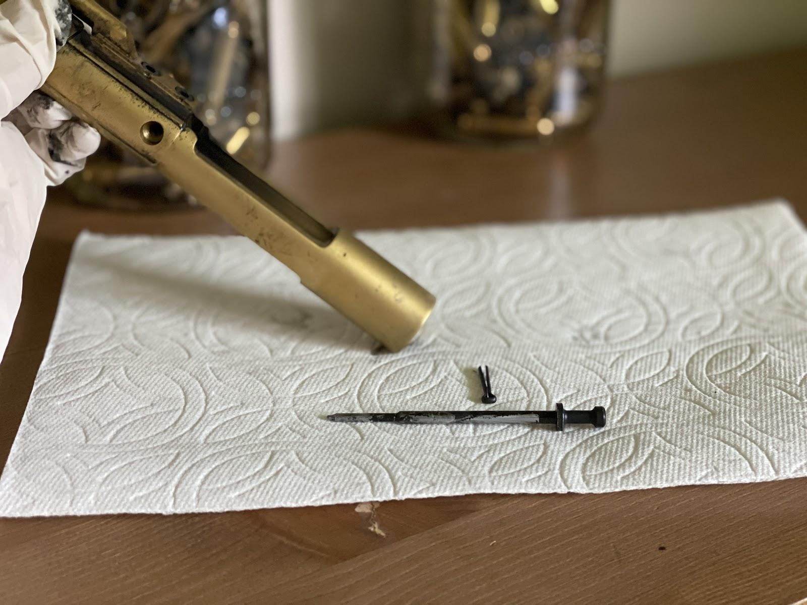 removing firing pin