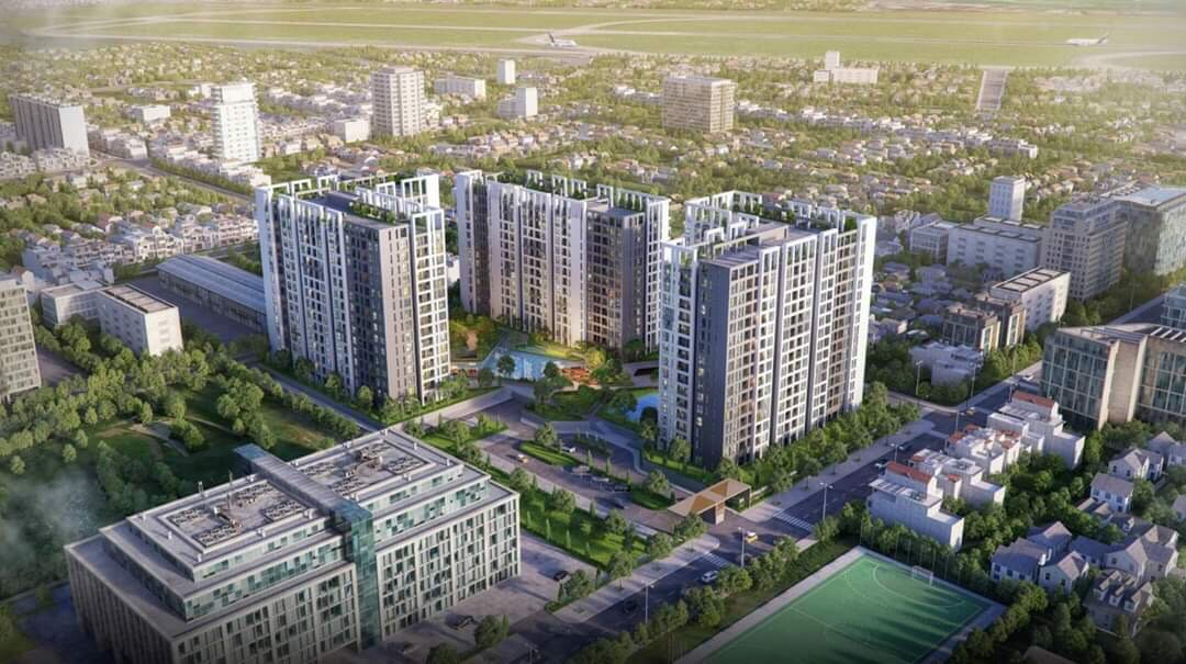 Toàn cảnh dự án căn hộ cao cấp Hưng Thịnh