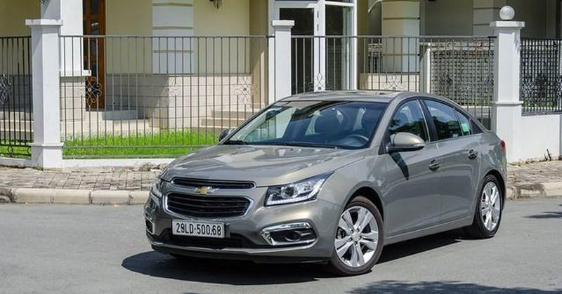 Kết quả hình ảnh cho Thông tin về giá xe Chevrolet Cruze 2018 mới nhất