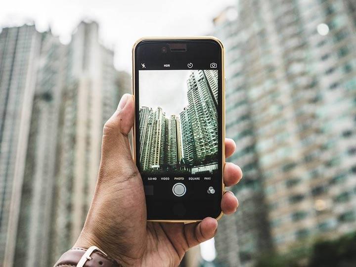 علت داغ شدن گوشی - استفاده مداوم از دوربین